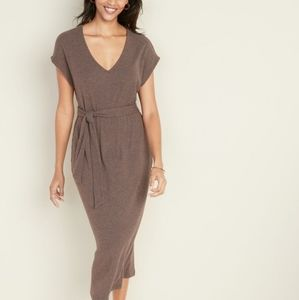 Old Navy XX Large NEW  ribbed loose Tie belt Dress